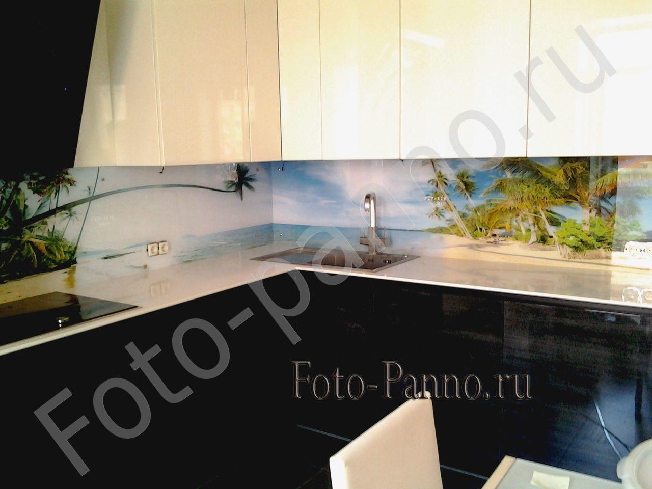 Фартук на кухню фото пляж
